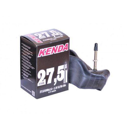 Велокамера универсальная KENDA 27.5x1.75-2.125,нипель F/V-48 мм, в коробочке