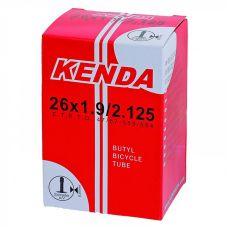 """Велокамера универсальная KENDA 16"""" 16X1.75-2,125, нипель  A/V-35 мм, в коробочке, не формованная"""
