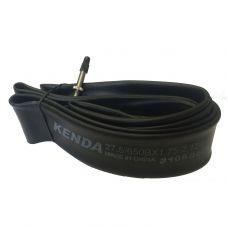 Велокамера универсальная KENDA 27.5x1.75-2.125,нипель F/V-48 мм, OEM