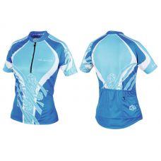 Футболка велосипедная, женская,  ASL-R-6A Размер XL, голубая