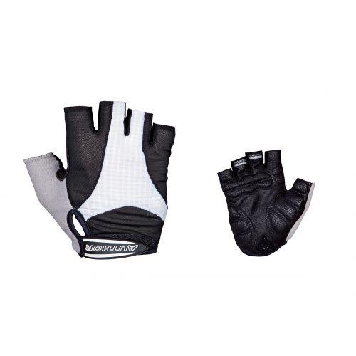 Перчатки Author Men Elite Gel, размер M, черно белые