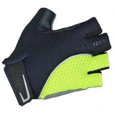 Перчатки Team X6, размер  M, черно-неоново желтые