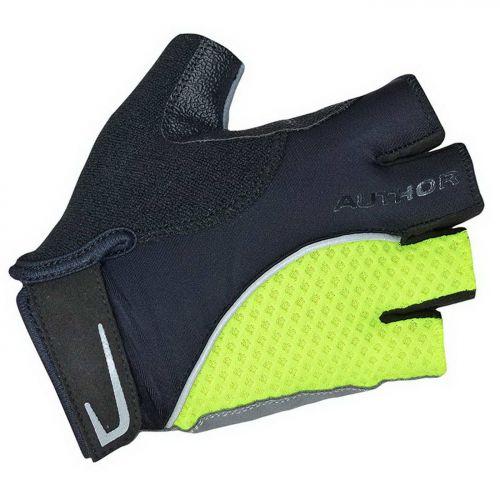 Перчатки Team X6, размер  L, черно-неоново желтые