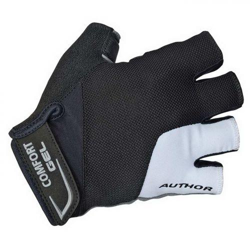Перчатки Author Men Comfort Gel X6 s/f, размер  M, черно белые