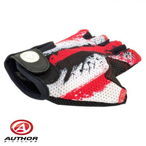 Перчатки Junior X6, размер  L , красно белые