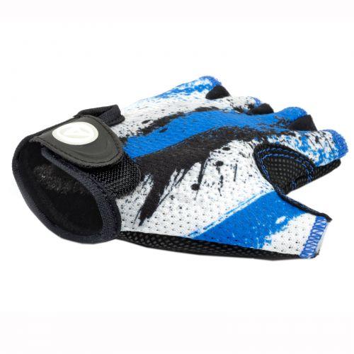 Перчатки Junior X6, размер  S, сине белые