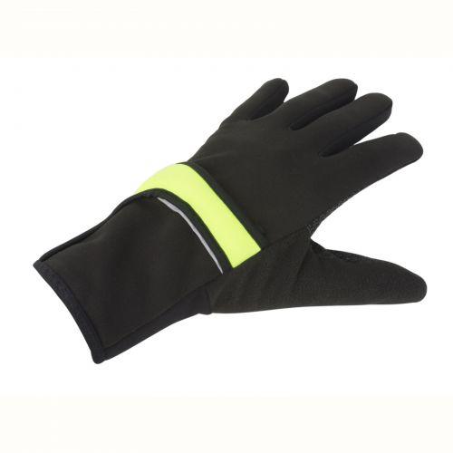 Перчатки зимние Author Windster X7, размер S, черно-неоново желтые