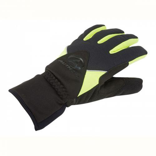 Перчатки зимние Author UltraTech Thermo, размер S, черно-неоново желтые