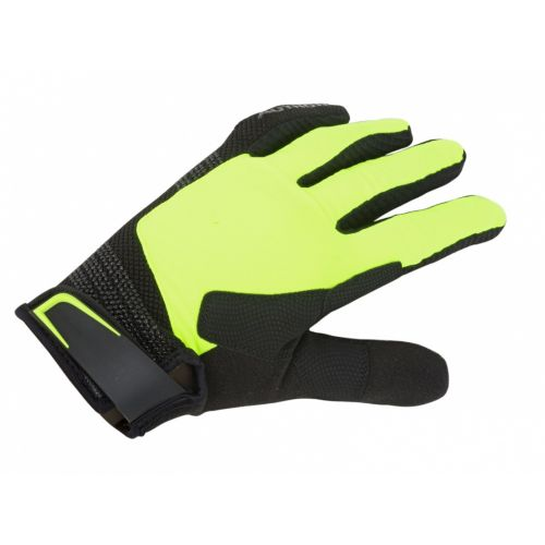 Перчатки Author ThermoLite Gel, размер M, черно/неоново жёлтые