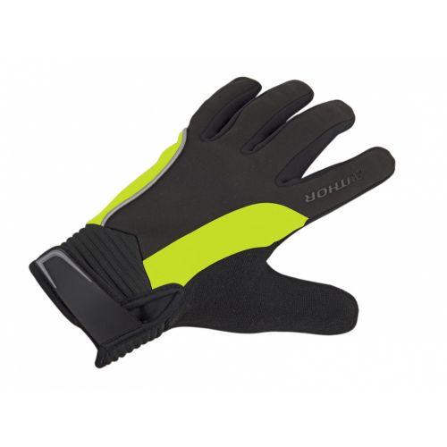 Перчатки Author Windster Light X8, размер S, черно/неоново жёлтые