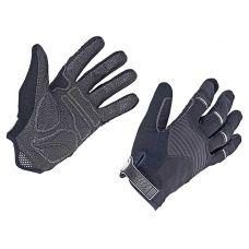 Перчатки  Single T f/f, размер  S, черно/серебристые