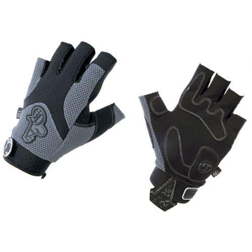 Перчатки  AG short S, серые/черные