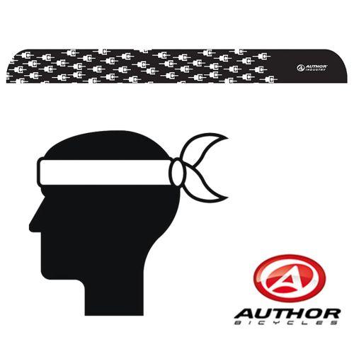 Повязка на голову Author d43 черно /белая