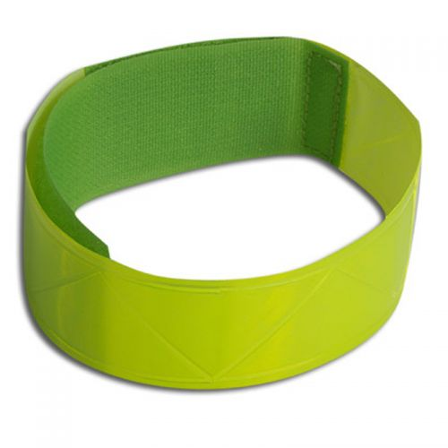 Лента A-O35 35x280 mm люминисционная, неоново желтого цвета (крепится на руку/ногу)