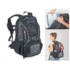 Рюкзак A-B Twister Laptop, 25 л. черно серый