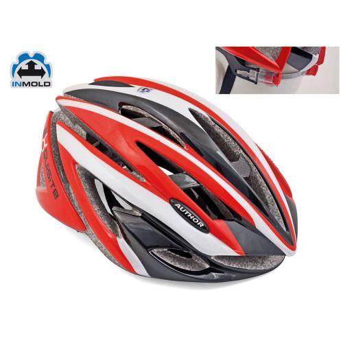 Шлем Exquisite 081 ,красный, размер 58-62cm