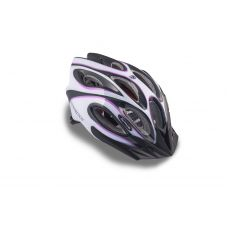 Шлем Skiff 144 черный/белый/пурпурный,  размер 58-62 cm, вес 271 гр.