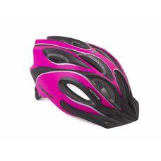 Шлем Author Skiff Inmold, размер 52-58 см, цвет: неоново розовый/черный