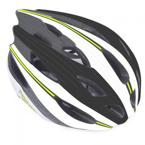 Шлем Rocca N 162 зелено/белый/черный, размер 54-58 cm, вес 285 гр.