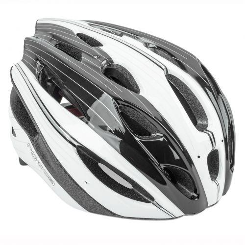 Шлем Rocca N 54-58cm (164 silver/white/black)