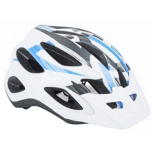 Шлем Sector Inmold 165 сине/белый, размер 54-58 cm, вес 236 гр.
