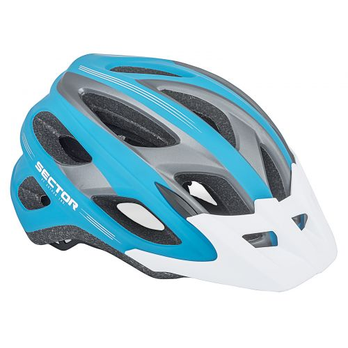 Шлем Sector Inmold 163 сине/черный, размер 54-58 cm, вес 236 гр.