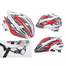 Шолом Aero Inmold 52-58cm (121 red/white)