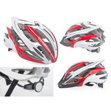 Шолом Aero Inmold 58-62cm (121 red/white)