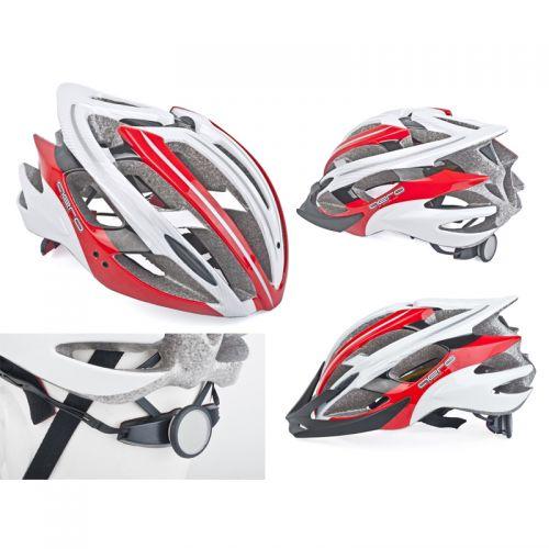 Шлем Aero Inmold, размер 58-62cm , цвет (121 красно/белый)