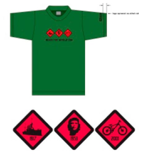 Футболка  AURORA, размер XXL, цвет тёмно-зелёный