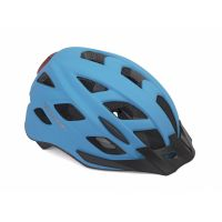 Шлем Author Pulse LED X8, размер 52-58 см, цвет: неоново синий