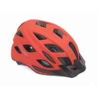 Шлем Author Pulse LED X8, размер 52-58 см, цвет: неоново красный