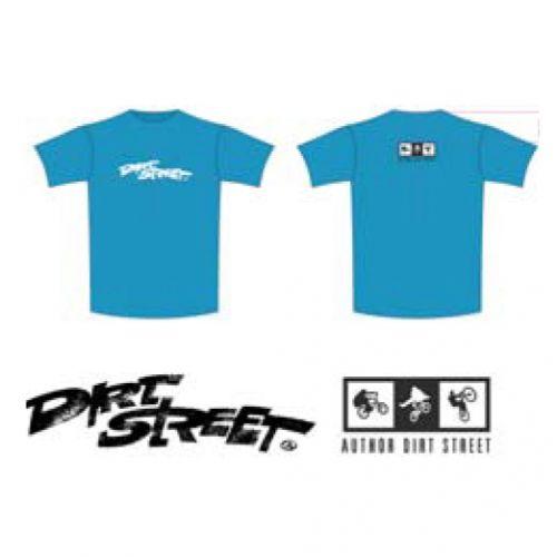 Тениска DirtStreet, размер XXL, синяя