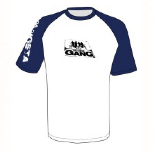Футболка AUTHOR GANG, размер XL, цвет белый/тёмно-синий