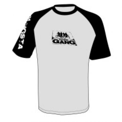 Футболка  Author Gang, размер XXL, цвет серо/чёрный
