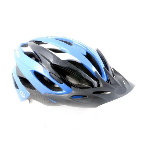 Шлем Flow 072 голубой/белый/серый.Размер 54-62cm