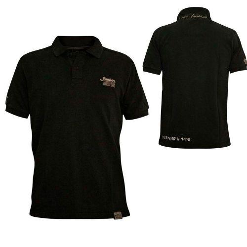 Футболка Polo AUTHOR XXL - размер, черный цвет
