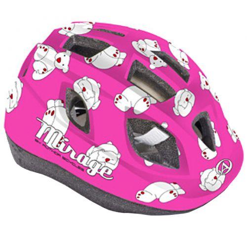 Шлем Mirage Inmold 48-54cm (161 pink-bear)