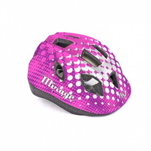 Шлем Mirage Inmold 52-56cm (165 pink/white)
