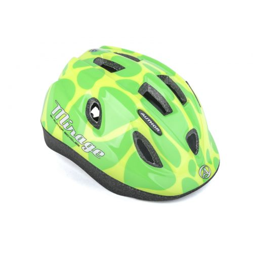 Шлем Author Mirage Inmold, размер 52-56 см, цвет: желто/зеленый