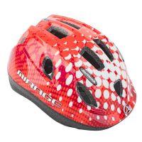 Шлем Mirage LED Inmold 48-54cm (168 red/white)