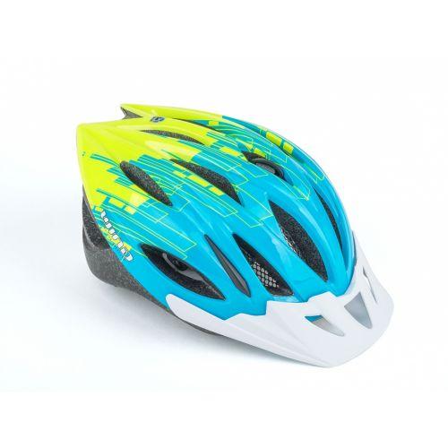Шлем Trigger Inmold 52-56cm (171 blue/yellow-neon)