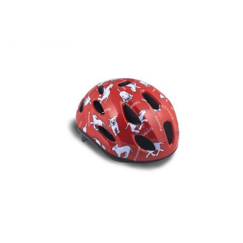 Шлем Floppy 124, красный, размер 48-54 cm
