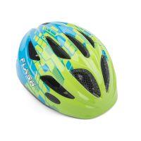 Шлем Author Flash Inmold, размер 47-51 см, цвет: сине/зеленый