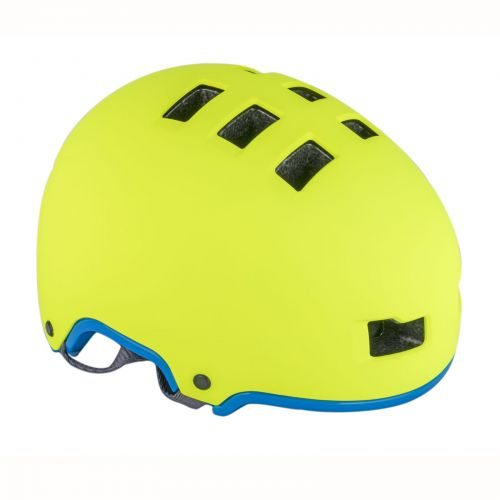 Шлем Author Lynx X9, размер 59-61 cm, цвет: неоново желтый/ неоново синий