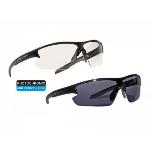 Очки солнцезащитные Author Vision LX Photochromic матово серая оправа,