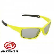 Очки солнцезащитные Author Indee, желто неоновая оправа