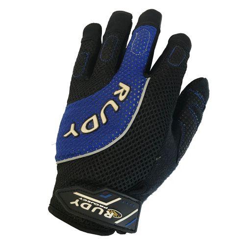 Перчатки THERA, Черно-голубые, размер M