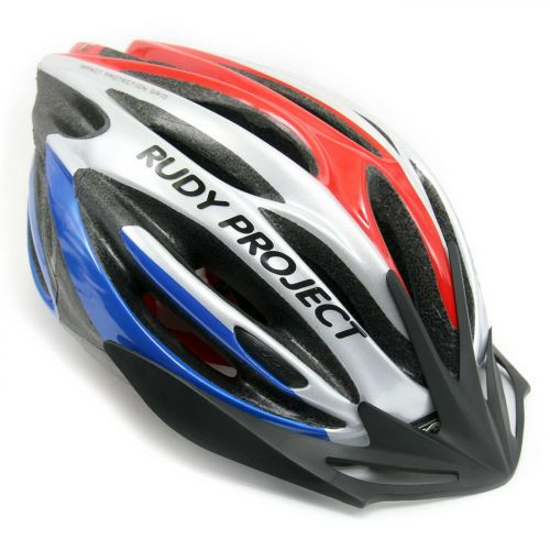 Шлем AYRON+ ,цвет-сине/красно/серебристый, размер  S-M