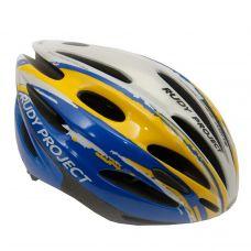 Шлем SKURYA ,цвет- сине/серебристо/желтый,размер S-M